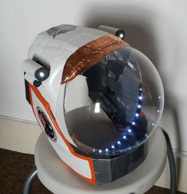 17. DIY Martian Space Helmet