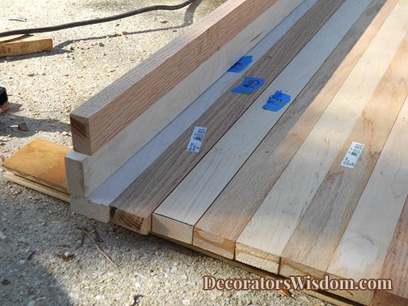 17. DIY Wood Countertop Idea