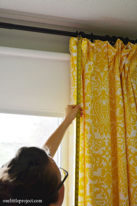 17. How To Make Black Out Curtains Tutorial