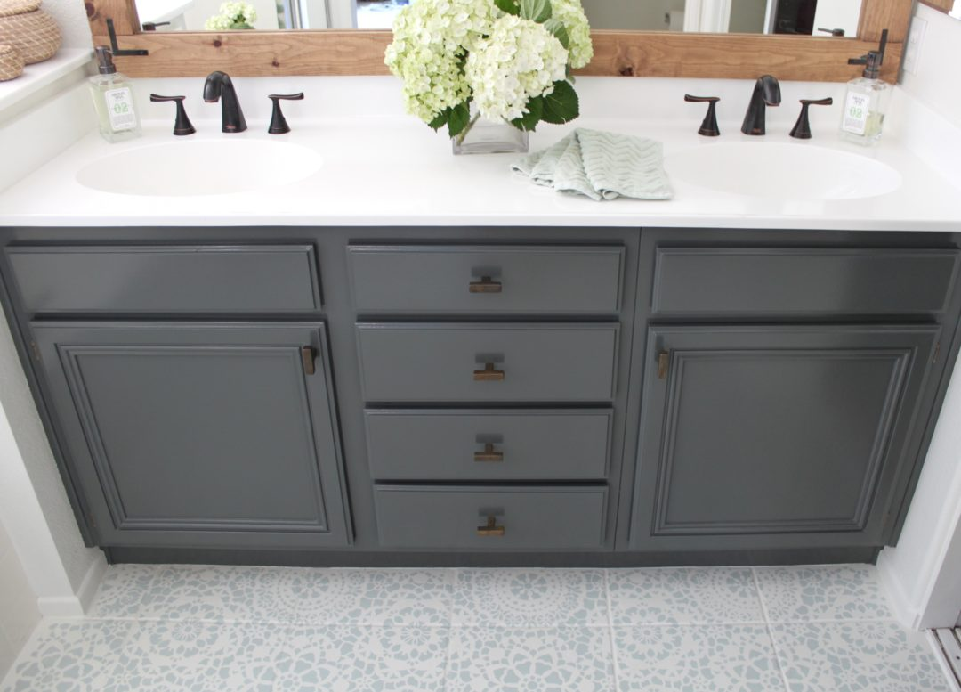 17. How To Refinish Professional Bathroom Cabinets