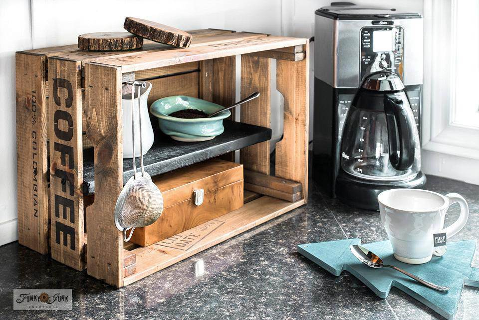 17. Old Crate Coffee Station