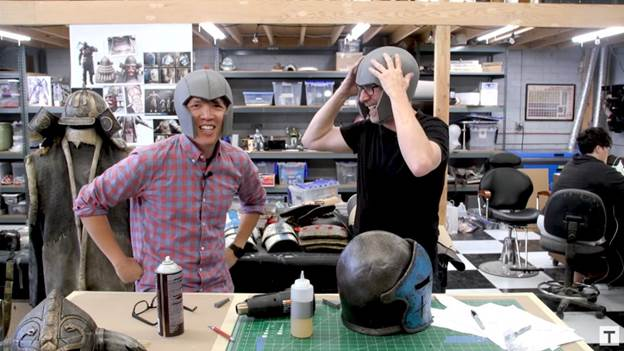 18. DIY Cosplay Helmet