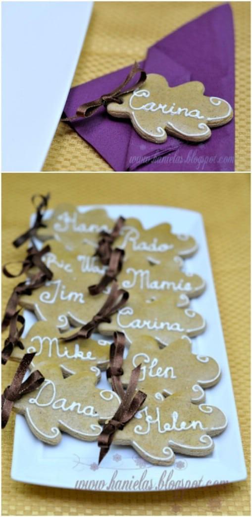 18. DIY Edible Napkin Rings Idea