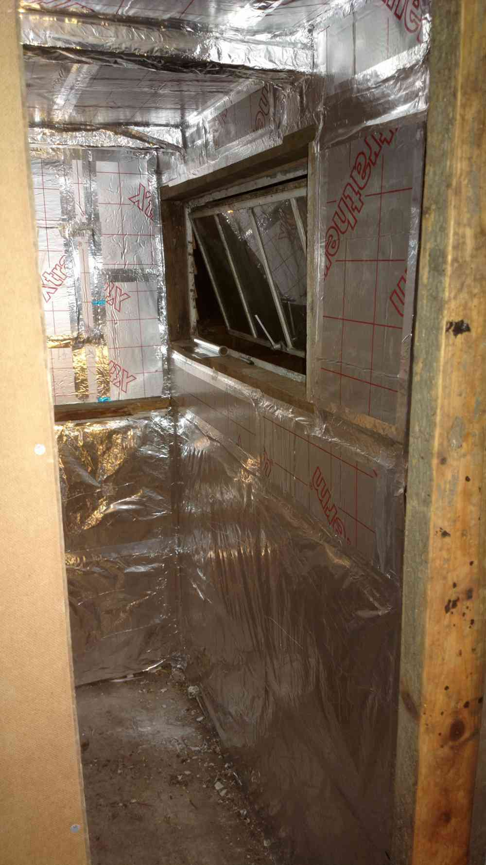 19. DIY Electrically Heated Sauna