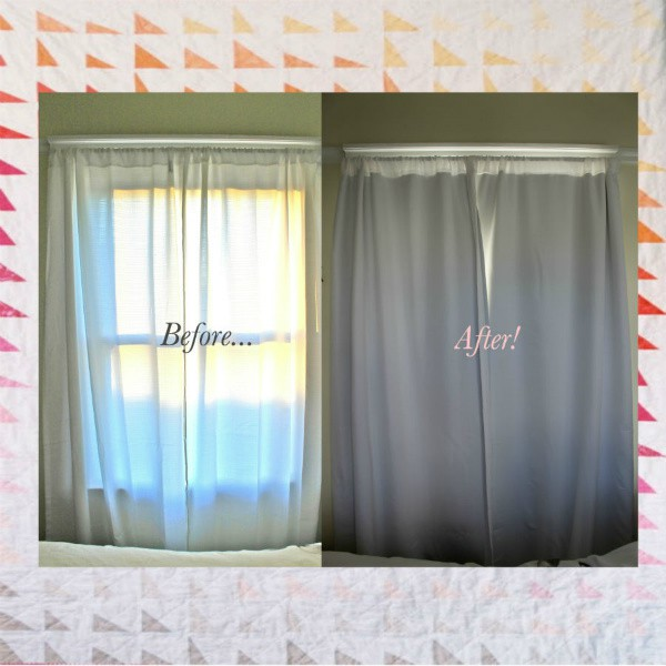 19. Easy No Sew DIY Blackout Curtains