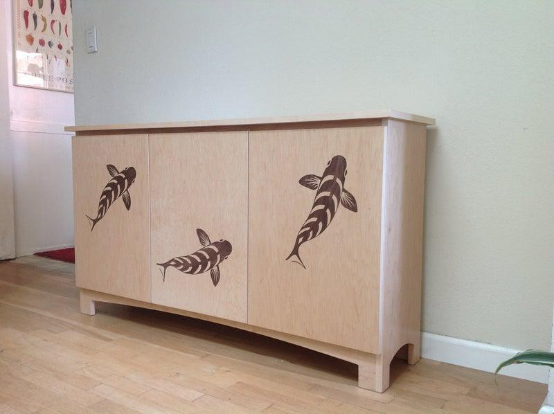 20. Designed Wood Sideboard DIY
