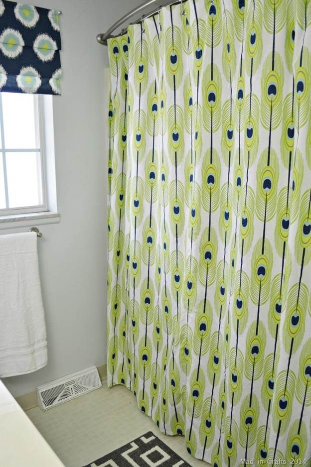 20. How To Make A Grommet Topped Shower Curtain