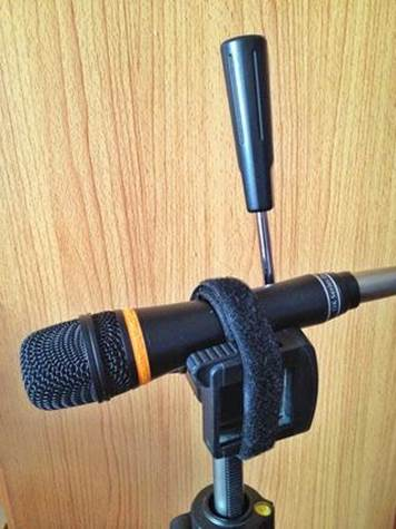 20. How To Make A Mic Stand Using A Tripod