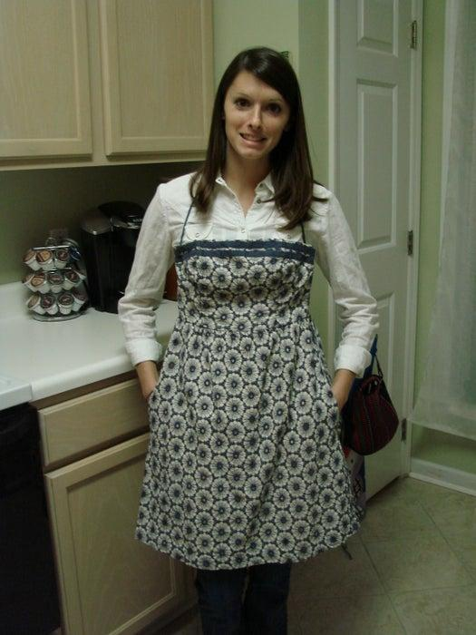 20. Old Dress To New Aprons