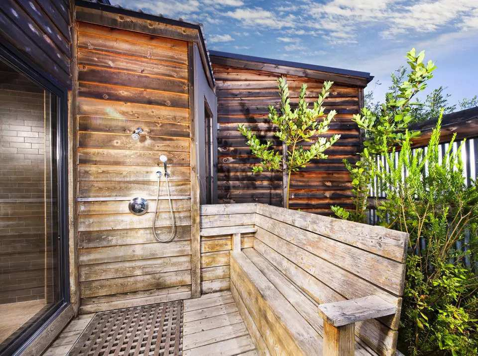 21. How To Build An Outdoor Shower
