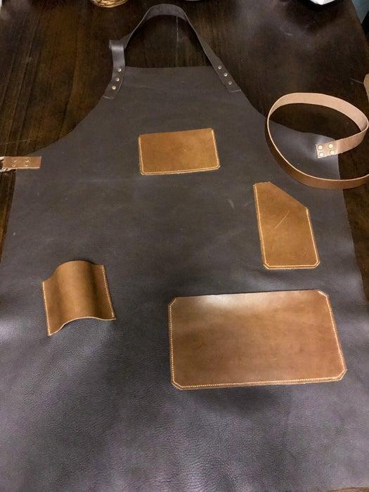 22. DIY Leather Apron