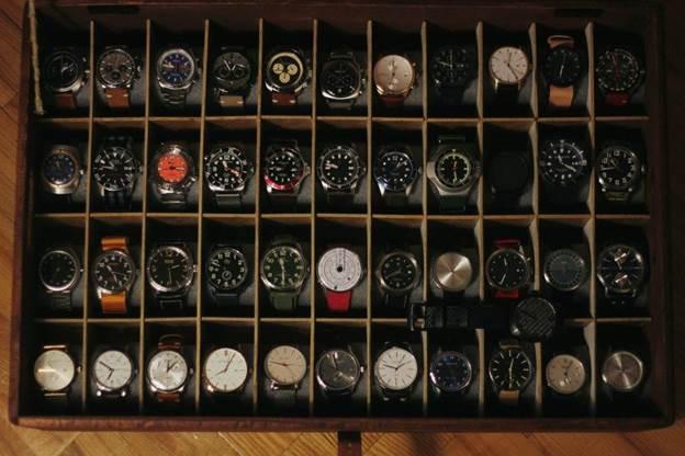 22. DIY Watch Box