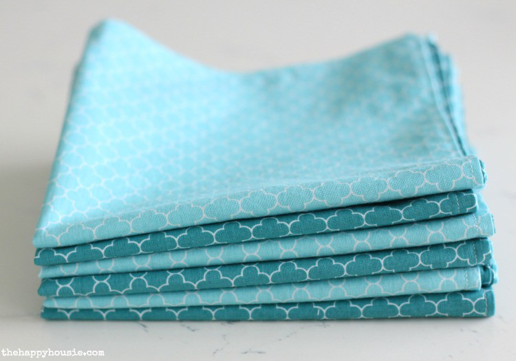 23. DIY Double-Sided Cloth Napkins