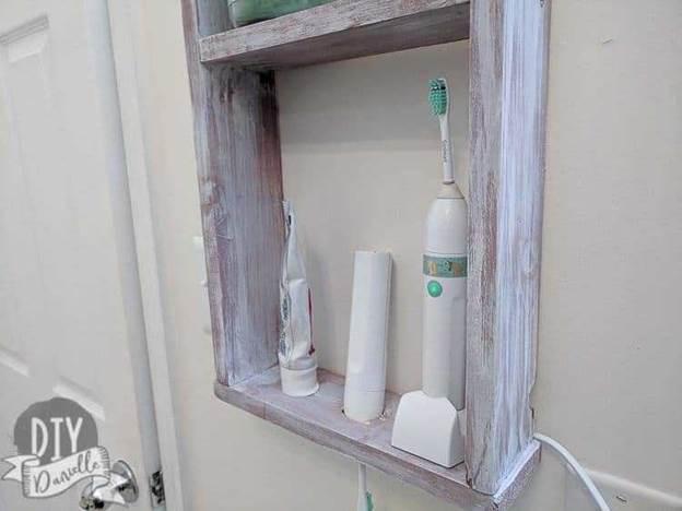 23. DIY Electric Toothbrush Holder