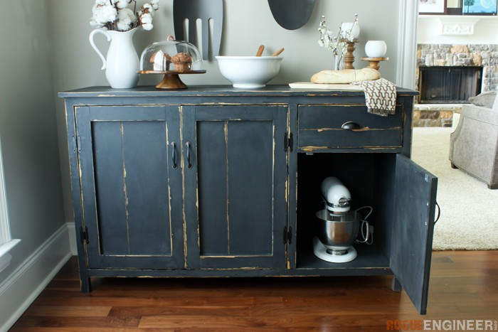 23. DIY Farmhouse Buffet Sideboard
