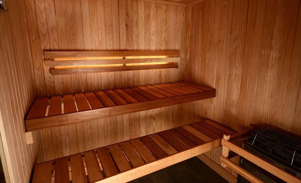 23. DIY Sauna