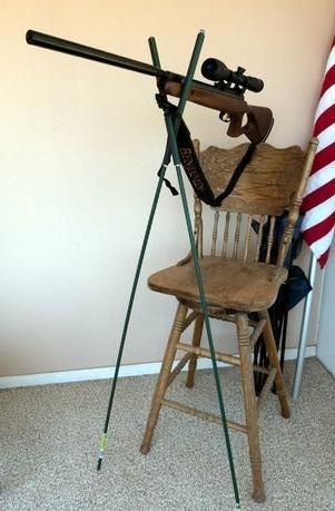 23. Easy Bipod Rifle Rest