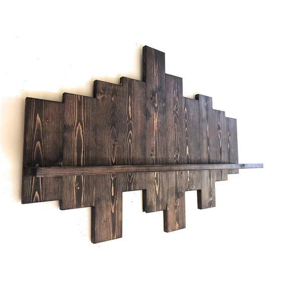 23. Rustic Wall Shelf