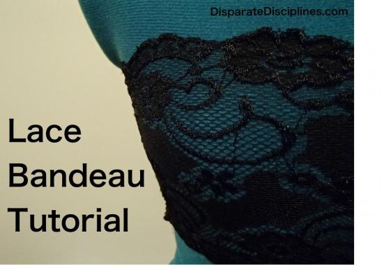 24. DIY Lace Bandeau