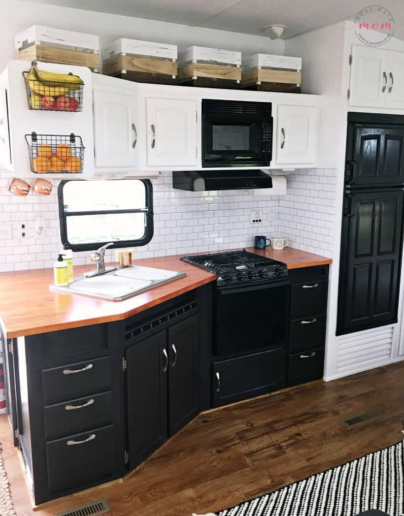 24. DIY Wooden Countertop