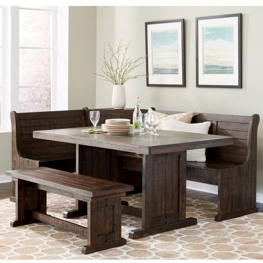24. Nook Dining Table Set