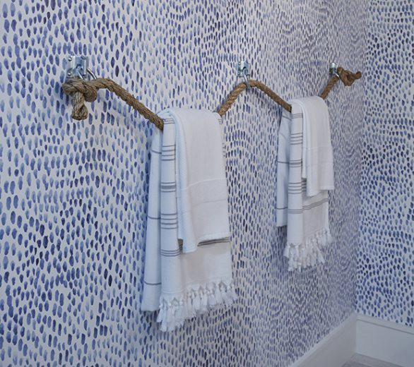 25. How To Make A DIY Towel Holder