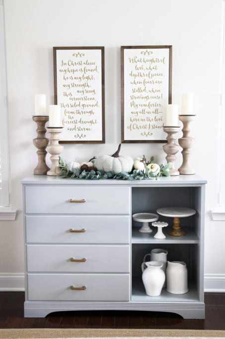 26. DIY Dresser To Sideboard