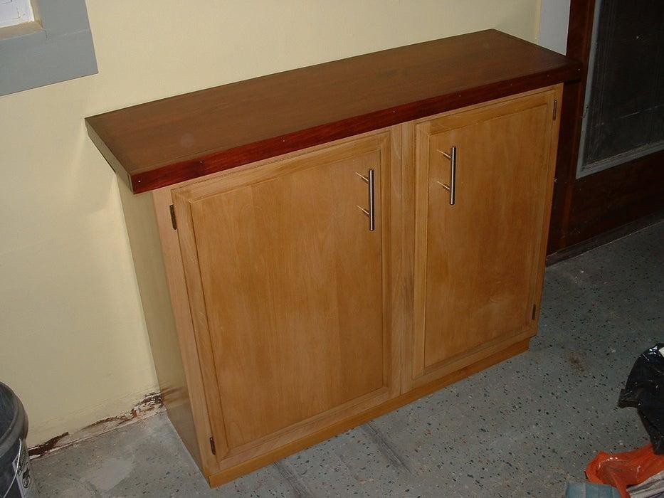 28. Sideboard From Kitchen Wall Cabinets