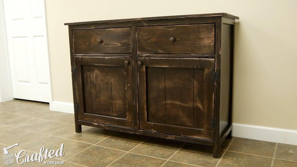 3. DIY Sideboard Buffet Cabinet