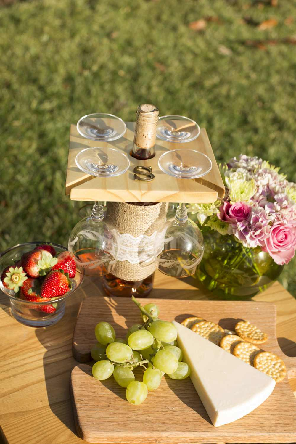 3. DIY Wine Glass Holder