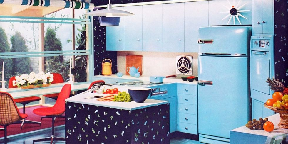 30. Kitchen Island Wallpaper