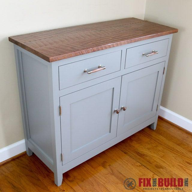 4. DIY Modern Kitchen Sideboard
