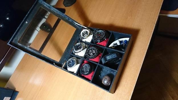 4. Homemade Wooden Watch Box DIY