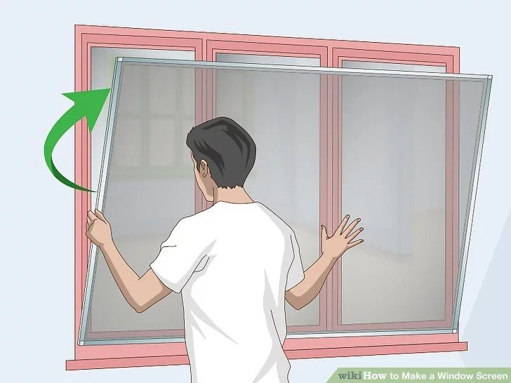 4. How To Make A Window Screen