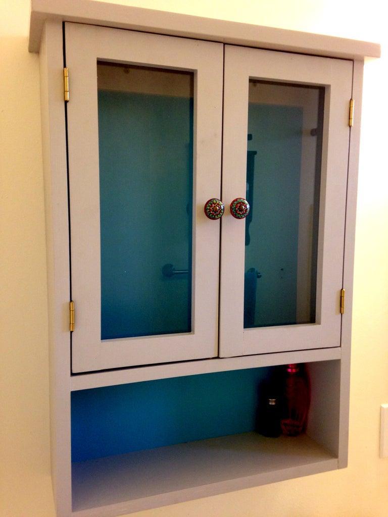 5. Bathroom Storage Cabinet DIY