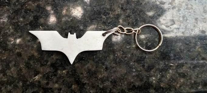 5. DIY Batman Keychain