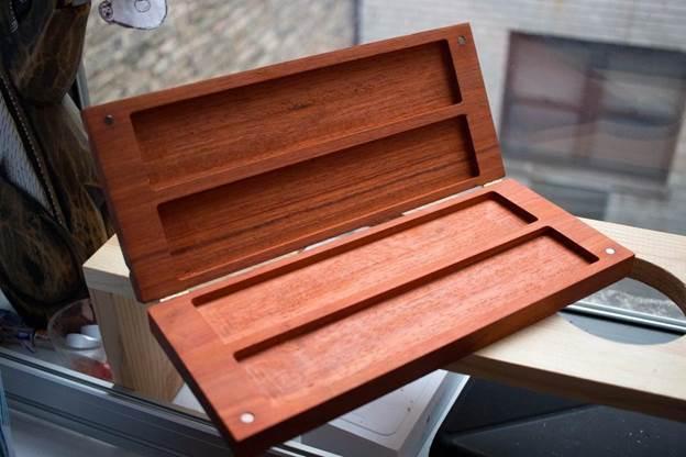 5. DIY Hardwood Watchbox