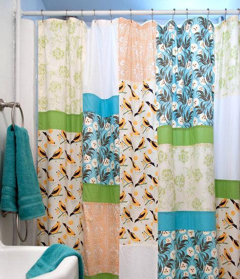 5. DIY Shower Curtain