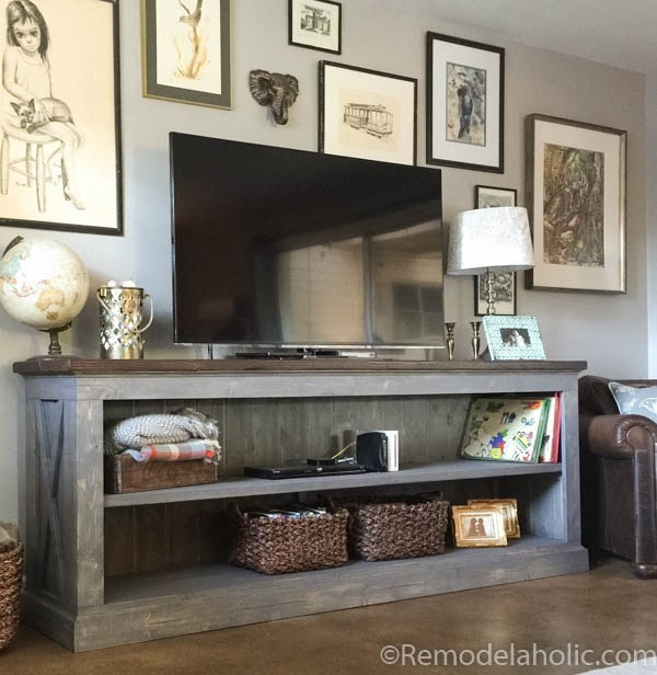 5. Farmhouse Sideboard Idea DIY