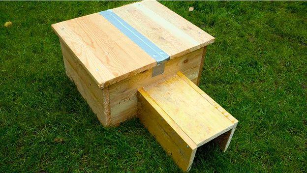 6-DIY-Hedgehog-Home-Using-Wood