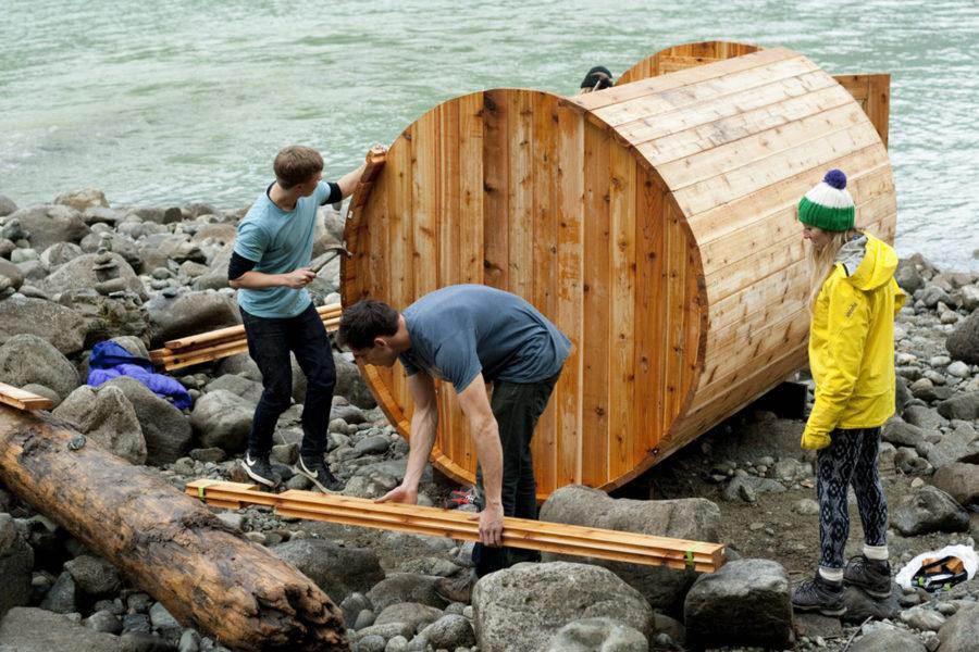 6. Building A DIY Outdoor Sauna
