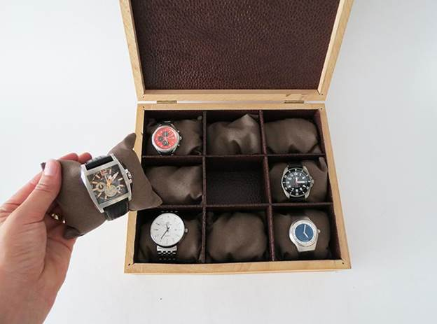 6. How To Make A Watch Storage Box