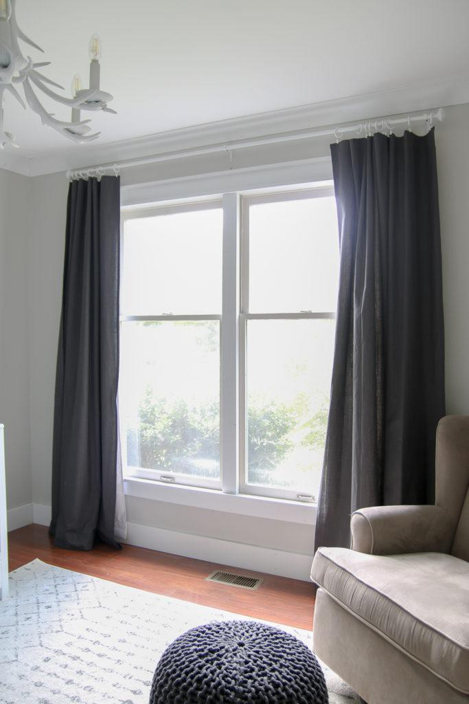 6. Transform Any Curtain To Blackout Curtains