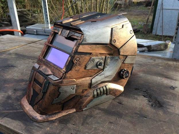 7. DIY Dead Space Welding Helmet