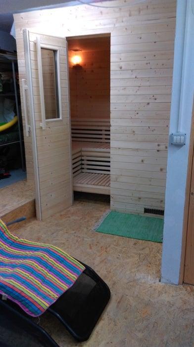 7. DIY Finnish Sauna