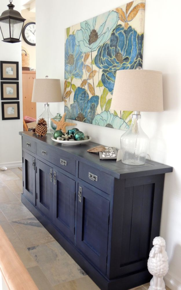 7. DIY Huge Sideboard DIY