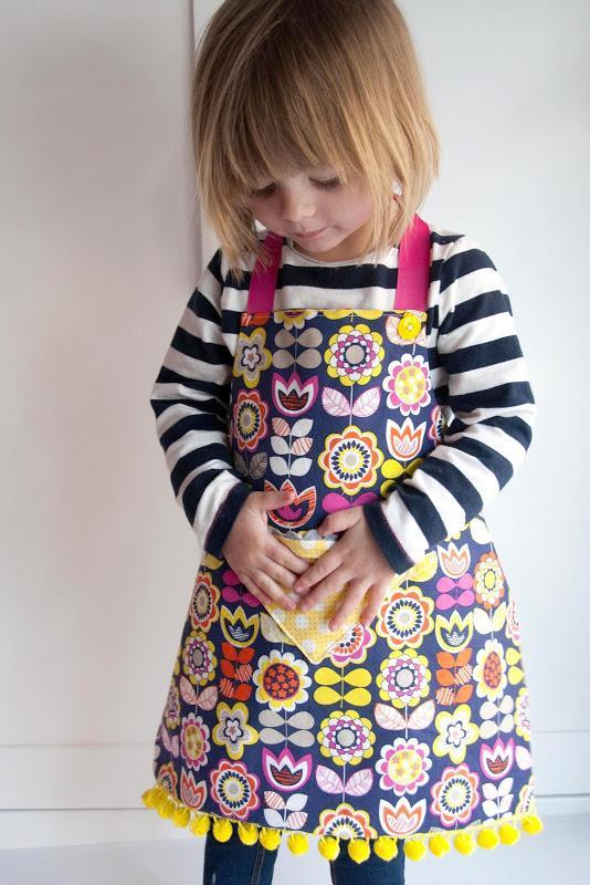 7. Easy Kids Apron DIY