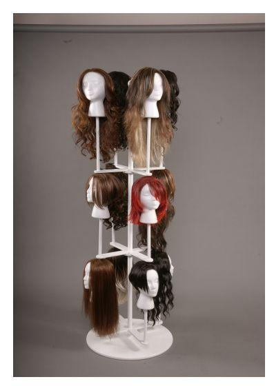 7. Space Saving Wig Chateau