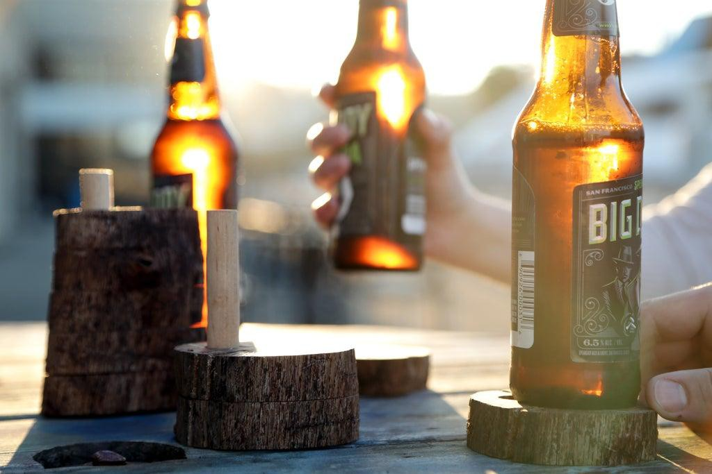 7. Wooden Coasters DIY