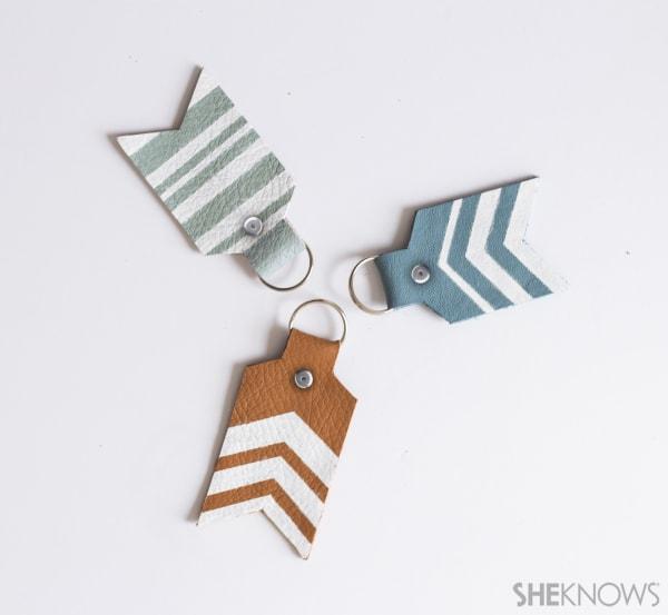 8. Arrow Tail Keychain DIY
